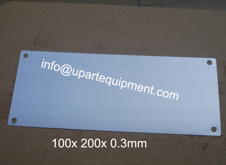 high quality pad printing machine thin steel plates,single
