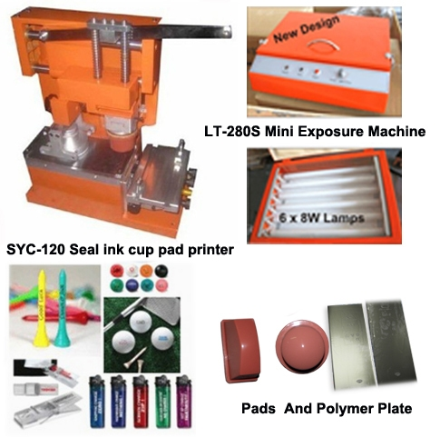 best manual pad printing machine with low cost and seal ink cup