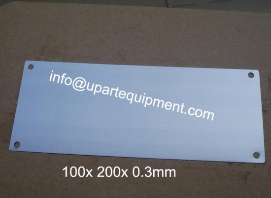 high quality pad printing machine thin steel plates,single color pad