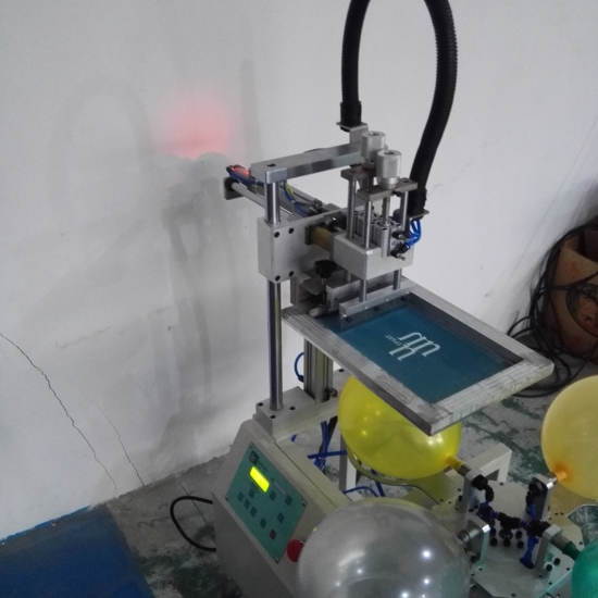 Hand Rotary Automatic Balloon Screen Printing Machine For